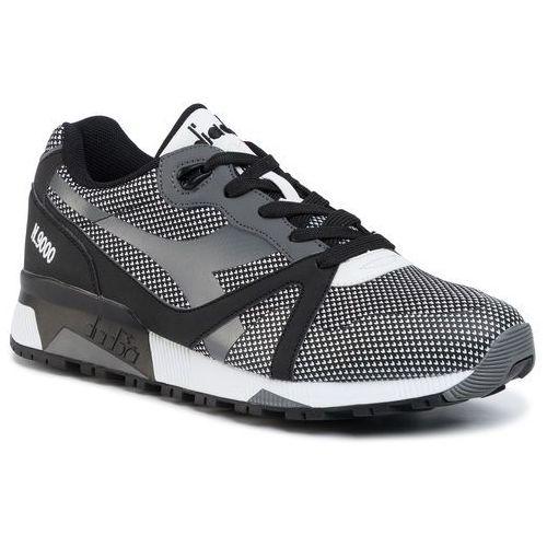 Sneakersy DIADORA - N9000 Arrowhead 501.171099 01 C0641 Black/White, w 7 rozmiarach