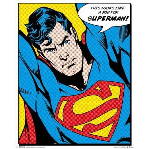 Superman - Robota dla Supermana - retro plakat - sprawdź w wybranym sklepie
