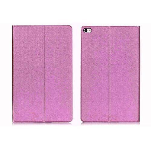 Etui Book Cover Huawei MediaPad T2 10.0 Pro Brokat Fioletowe - Fioletowy