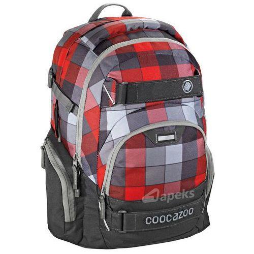 Coocazoo carrylarry ii plecak szkolny 44 cm / red district - red district (4047443285812)