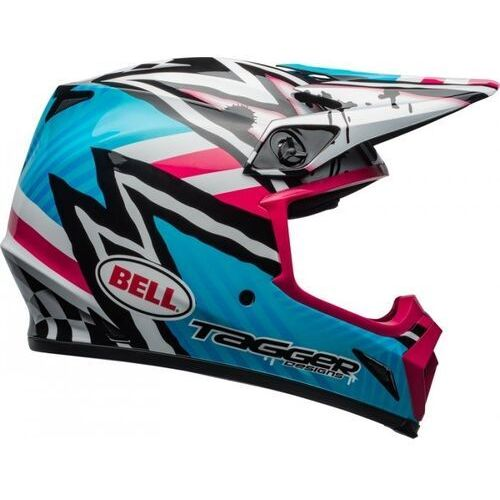 Bell_sale Bell kask off-road mx-9 mips tagger asym blue/pink