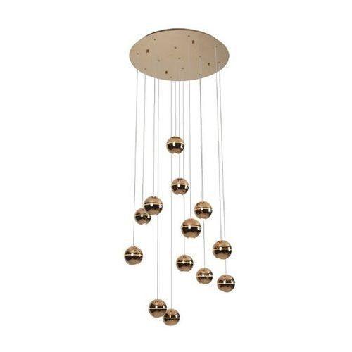 Lampa wisząca Maxlight Zen P0318 13x4W LED miedziana (5903351002721)