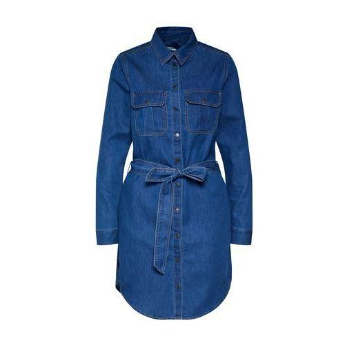NEW LOOK Sukienka koszulowa 'PEANUT' niebieski denim, w 5 rozmiarach