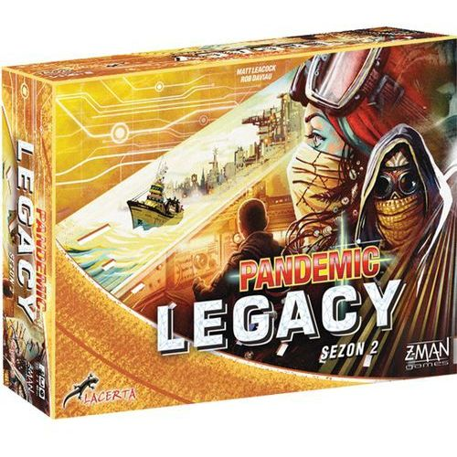 Pandemic legacy (pandemia) - sezon 2 - edycja żółta marki Lacerta