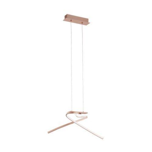 Lampa wisząca Eglo Palozza 97362 sufitowa 2x11W LED różowe złoto, 97362