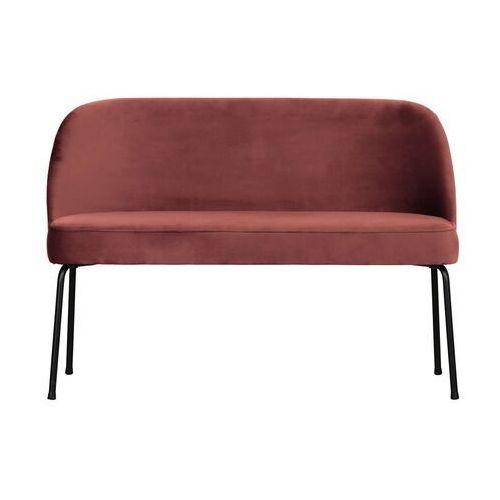 Be pure ławka/sofa vogue velvet chestnut 800086-c