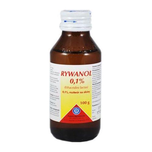 Rywanol 0,1% płyn 100 g - produkt z kategorii- Pozostałe środki dezynfecyjne