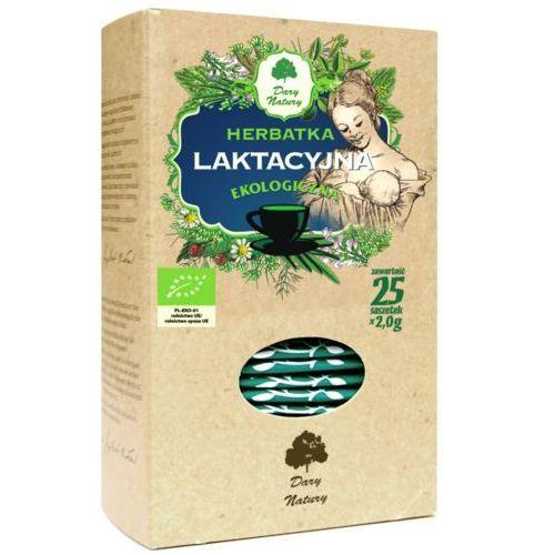 Herbatka laktacyjna (25 x 2 g) bio herbata dary natury marki Dary natury - herbatki bio