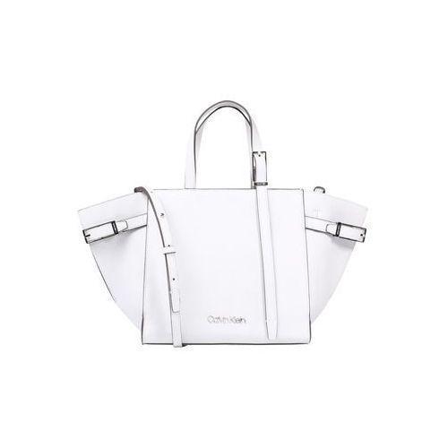 Calvin Klein Torba na ramię 'EXTENDED TOTE' biały, kolor biały