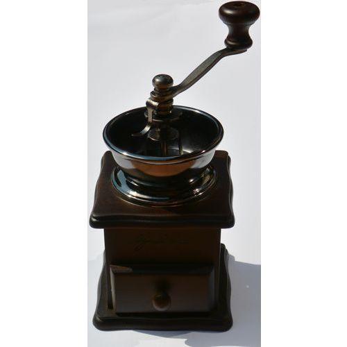 Ogniora Ręczny drewniany młynek do kawy,