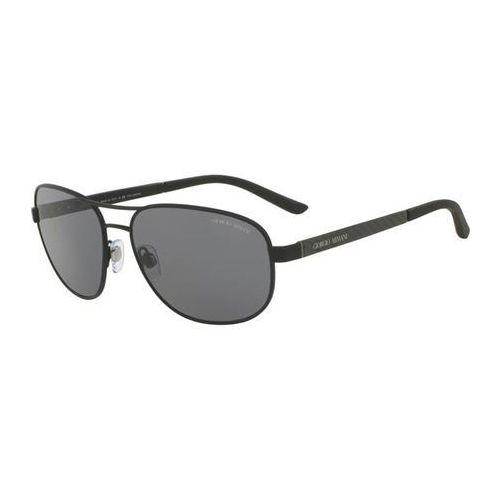 Giorgio armani Okulary słoneczne ar6036 polarized 313681