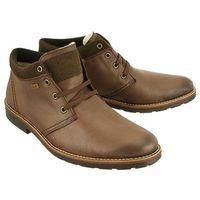 RIEKER 15346-24 TEX brown, trzewiki męskie