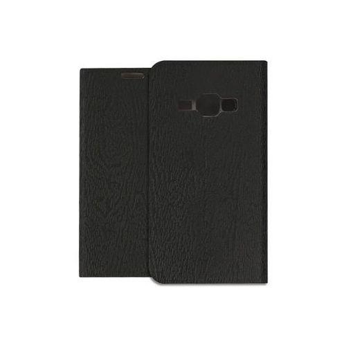 Etuo flex book Samsung galaxy j1 (2016) - pokrowiec na telefon - czarny