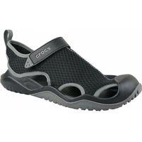 sandały męskie swiftwater mesh deck sandal m black m12 (46-47) marki Crocs