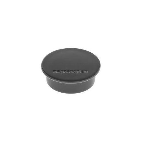 Magnesy discofix color 2.2kg 40x13 mm 10szt czarny marki Magnetoplan