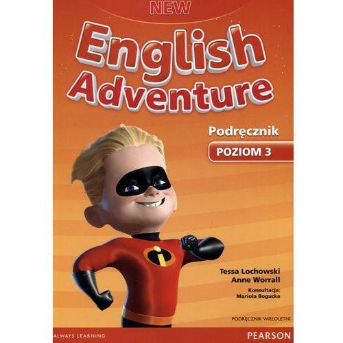 New English Adventure 3. Podręcznik Wieloletni + MP3, Tessa Lachowski, Anne Worrall