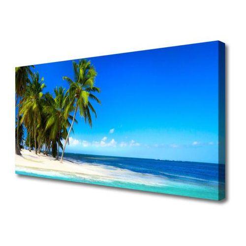 Obraz na płótnie palma drzewo morze krajobraz marki Tulup.pl
