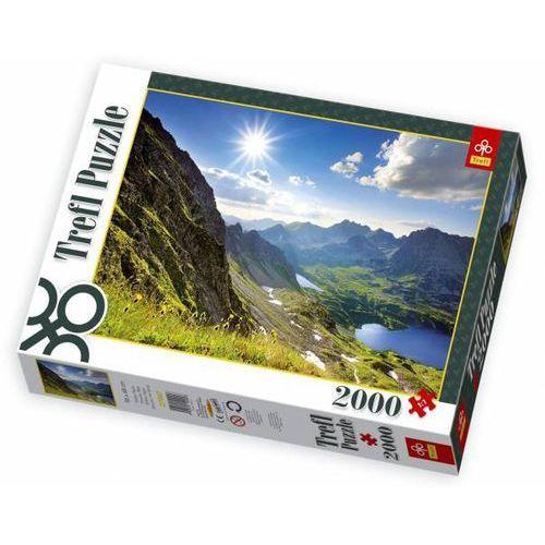 Puzzle 2000 Dolina Pięciu Stawów, Tatry TREFL (5900511270471)