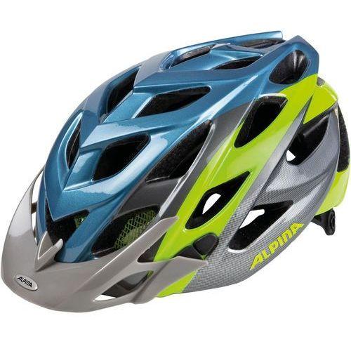 Alpina d-alto kask rowerowy szary/niebieski 57-61cm 2018 kaski rowerowe