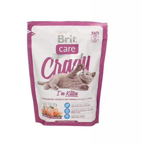 Brit care cat new crazy i'm kitten chicken & rice 400g (8595602505531)