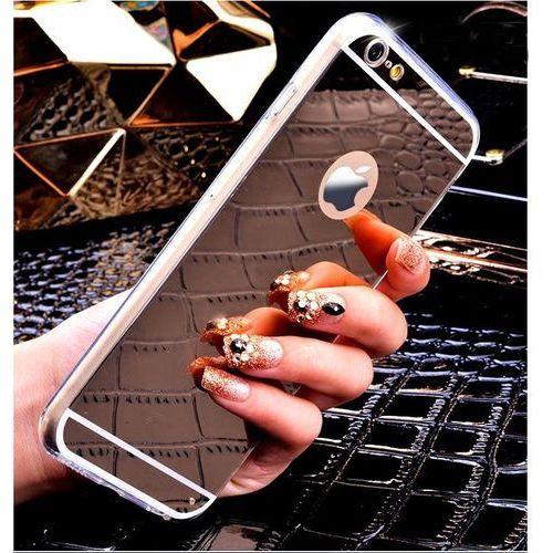 Slim Mirror Case Srebrny | Etui dla Apple iPhone 7 - Srebrny, kolor szary