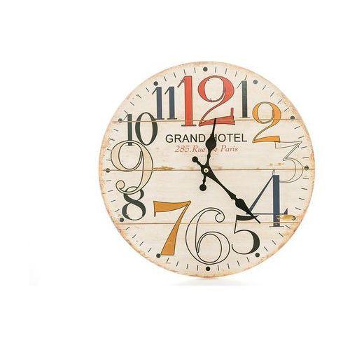 Zegar wiszący na ścianę grand hotel do powieszenia marki Home