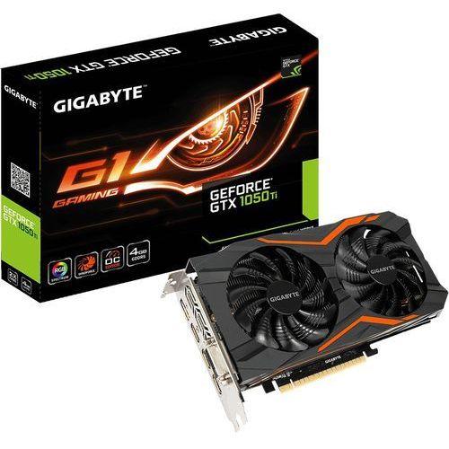 Gigabyte GeForce GTX 1050 Ti GAMING G1 4GB GDDR5 (128 Bit) DVI-D, 3x HDMI, DP, BOX (GV-N105TG1 GAMING-4GD) (5900000014685)
