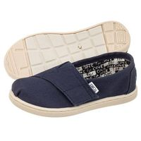 Tenisówki Toms Classic Navy Canvas 013001D13 (TS6-a), 013001D13 I NVY