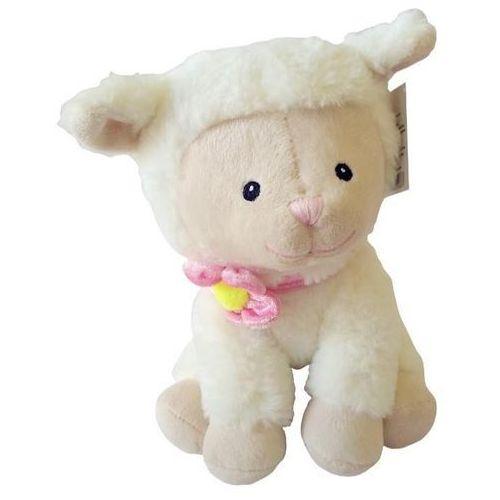 Axiom Maskotka owieczka różyczka siedząca 23 cm - darmowa dostawa od 199 zł!!!