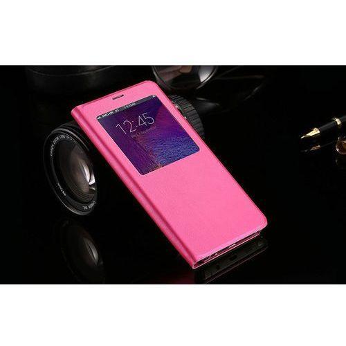 Flip Leather Różowy | Etui z klapką dla Samsung Galaxy S5 / S5 Neo - Różowy