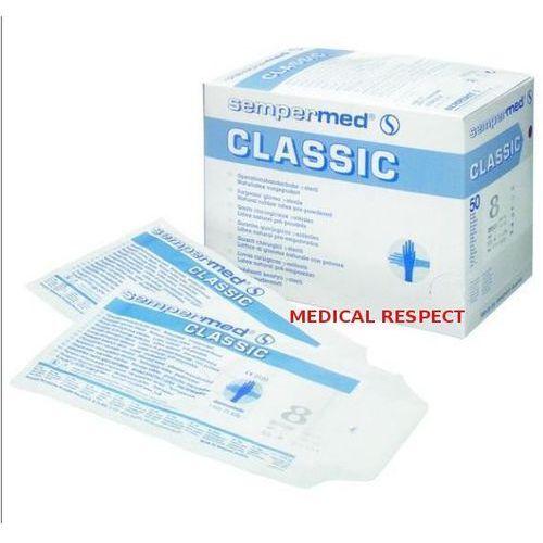 Rękawice Chirurgiczne Classic 7,5/5par Semper, 25-11-12