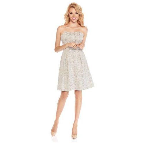 Sukienka stephanie w kolorze beżowym, Sugarfree
