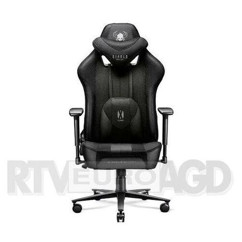 Fotel DIABLO CHAIRS X-Player 2.0 XL Czarno-czarny, X-PLAYER 2.0 KING SIZE