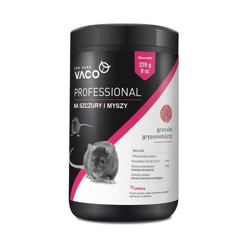 professional granulat na szczury i myszy 226 g - darmowa dostawa od 95 zł! marki Vaco