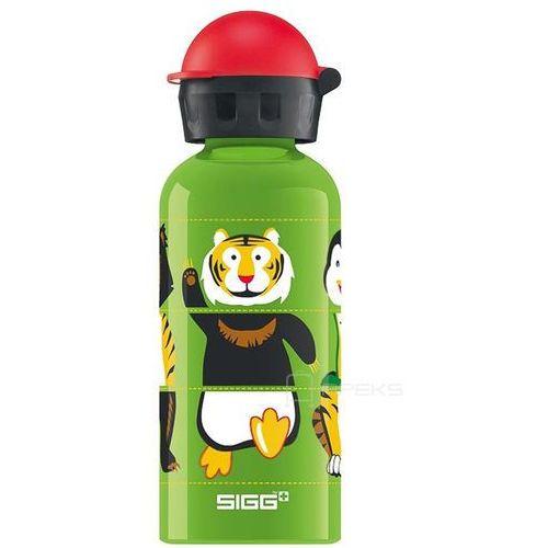 Sigg kids zoo twister butelka / bidon 0.4l dla dzieci - zoo twister