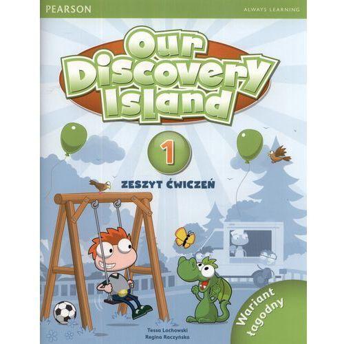 Our Discovery Island 1 Zeszyt ćwiczeń z płytą CD Wariant łagodny, oprawa miękka