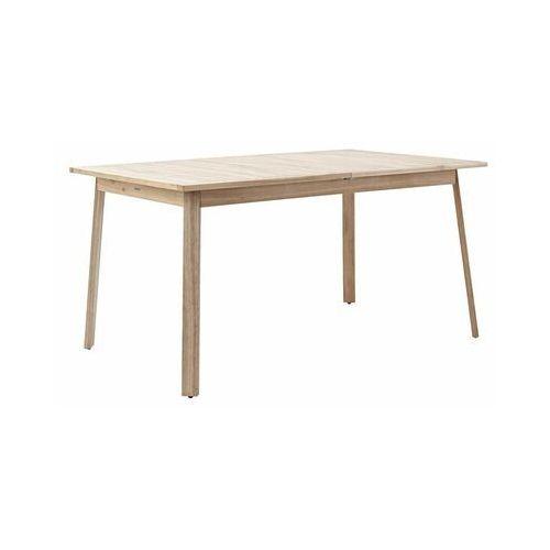Stół ogrodowy solis 90 x 150/200 cm drewniany marki Naterial