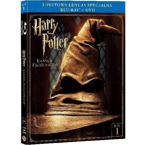Chris columbus Harry potter i kamień filozoficzny (2-płytowa edycja specjalna) (blu-ray) - darmowa dostawa kiosk ruchu