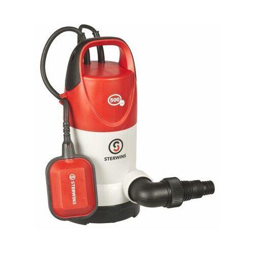 Pompa odwadniająca do wody czystej i brudnej 11000 l/h 500 W STERWINS (3276005143449)