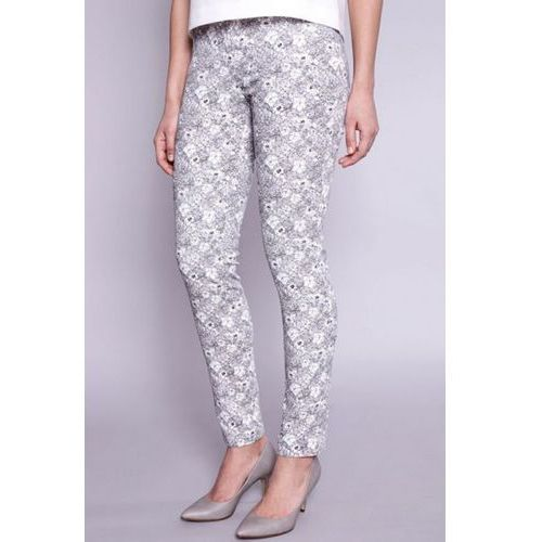 Click fashion Spodnie damskie model lisse 1707 grey