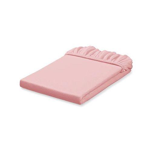 prześcieradło jersey bawełniane z gumką do łóżeczka 60x120 - różany marki Mamo-tato