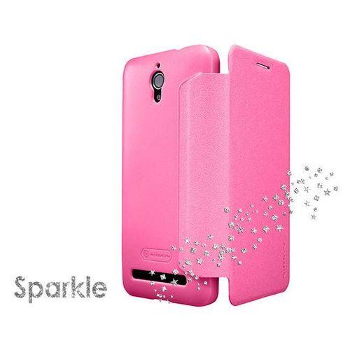 Etui Nillkin Sparkle Asus Zenfone C ZC451CG Różowe - Różowy