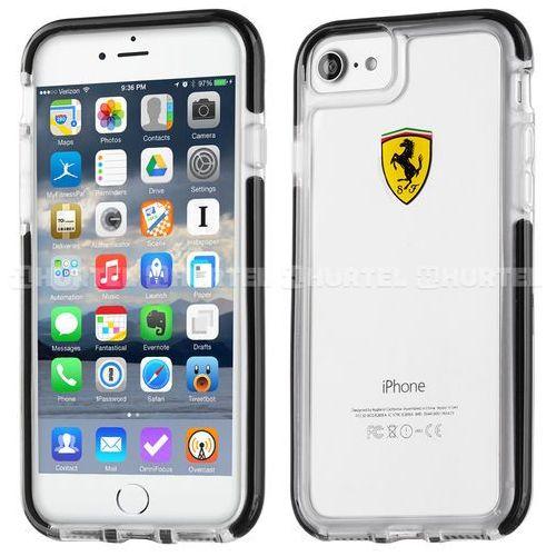 Ferrari Etui Hard do iPhone 7 (FEGLHCP7BK) Darmowy odbiór w 20 miastach!, kolor czarny