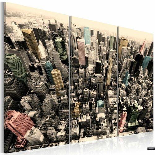 Selsey obraz - najwyższe budynki nowego jorku 120x80 cm