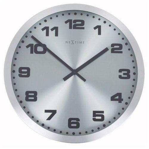 NeXtime - Zegar ścienny Mercure, kolor czarny