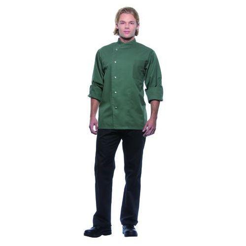 Karlowsky Bluza kucharska męska, rozmiar 46, oliwkowa | , lars