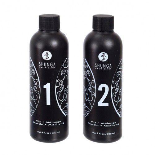 Żel do masażu - Shunga Massage Gel Strawberry & Champagne Truskawki i Szampan - produkt z kategorii- Olejki do masażu