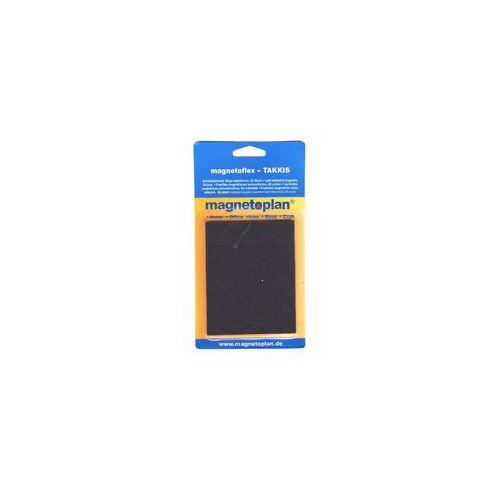 Taśma magnetyczna klejąca 20x20x0.75 mm 60szt (4013695022499)