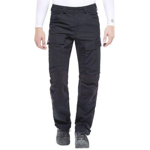 Lundhags authentic spodnie długie mężczyźni czarny 54-długie 2018 spodnie turystyczne