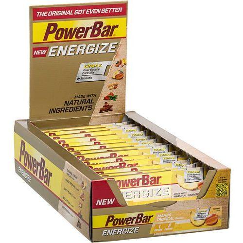 Powerbar new energize żywność dla sportowców mango tropical 25 x 55g 2018 zestawy i multipaki (4029679670143)
